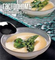 Рецепт Крем-суп из спаржи от Le Cordon Bleu