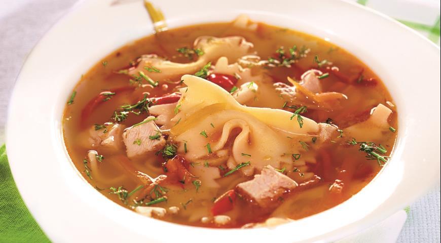 Рецепт Суп из индейки с лимоном