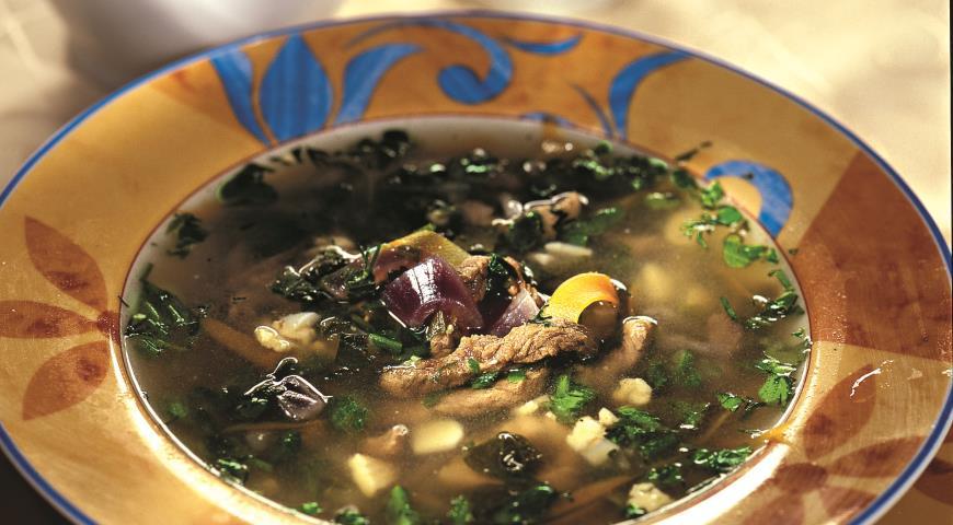Рецепт Португальский зеленый суп