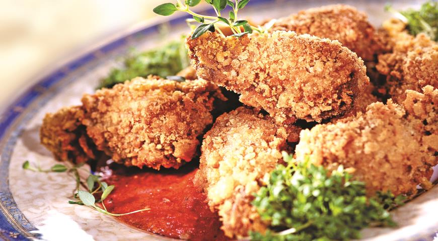 Рецепт Куриные крылышки в остром соусе
