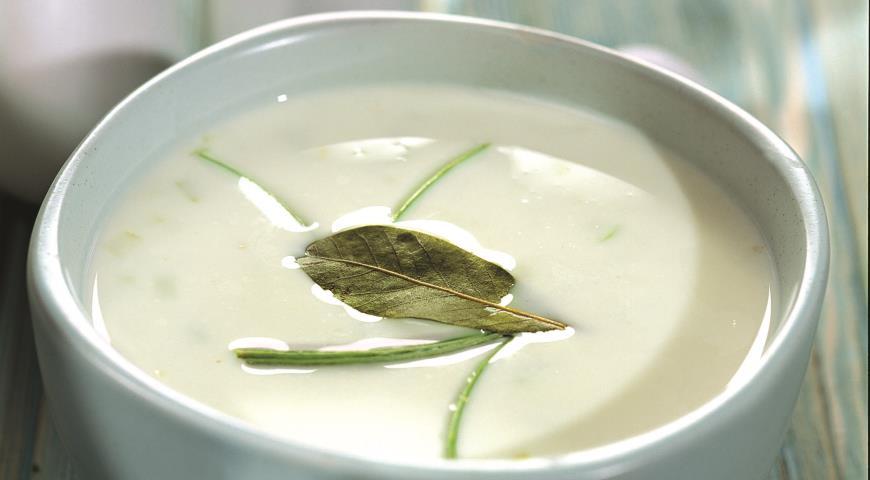 Рецепт Ирландский суп с геркулесом и луком-пореем