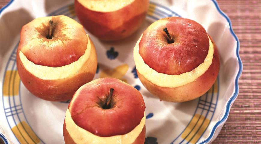 Рецепт Яблоки с творогом