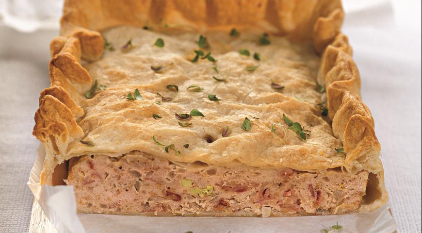 Рецепт Французский пирог-паштет