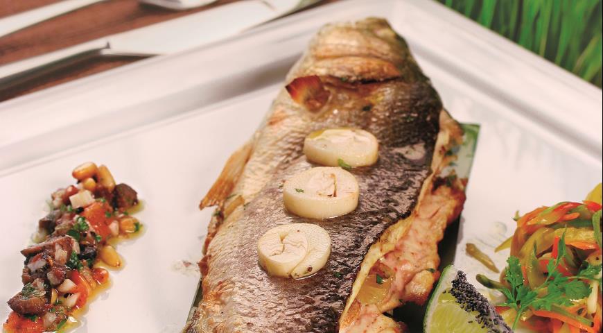 Рецепт Cибас с овощным жюльеном