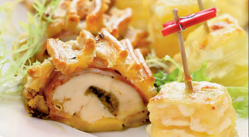 Рецепт Куриное филе в тесте