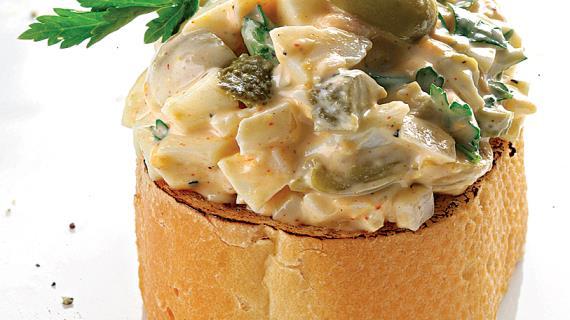 салат с горчицей фото рецепт