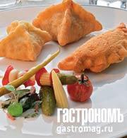 Рецепт Картофельные пирожки с бараниной и кедровыми орешками
