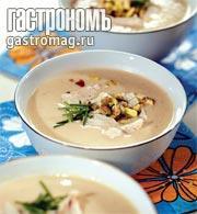 Рецепт Суп-пюре из курицы с фисташками