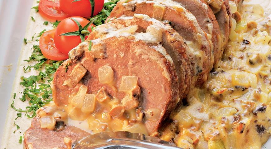 Блюда из телятины рецепты