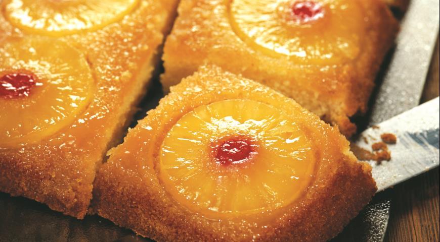 Рецепт Ананасовый пирог