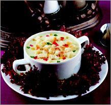 Рецепт Куриный суп-крем с овощами