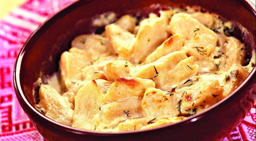 Рецепт Галушки со сметаной