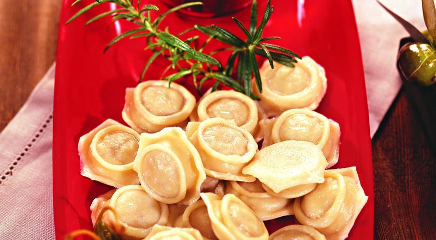 Рецепт Пельмени с тапенадом