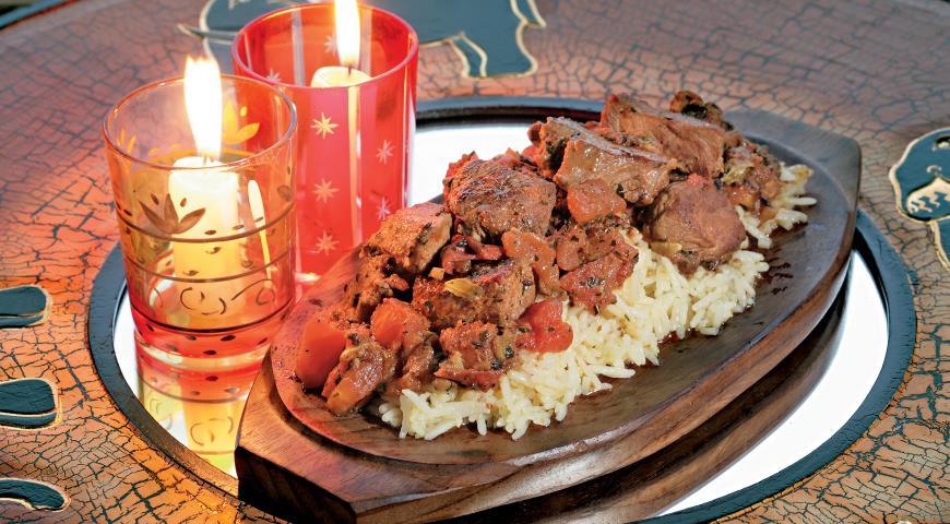 Рецепт Ягненок в соусе карри из 10 пряностей