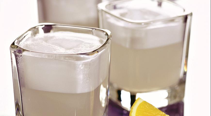 Рецепт Лимонный сорбет с водкой