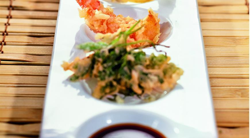 Рецепт Темпура из морепродуктов