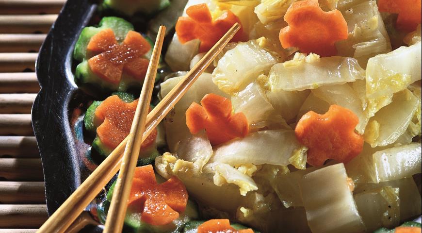 Рецепт Кисло-сладкая китайская капуста