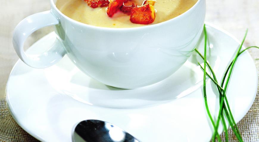 Рецепт Суп-пюре из рыбы с креветками