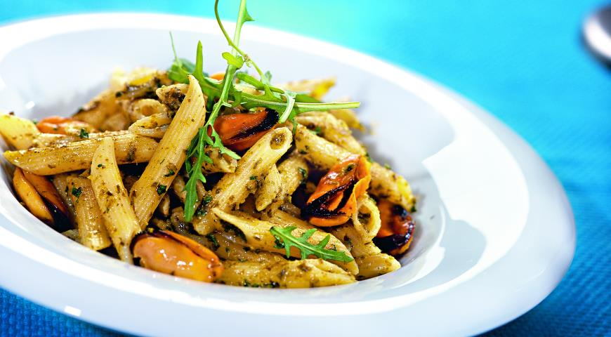 Мидии паста рецепты приготовления рецепт приготовления косули в духовке в рукаве