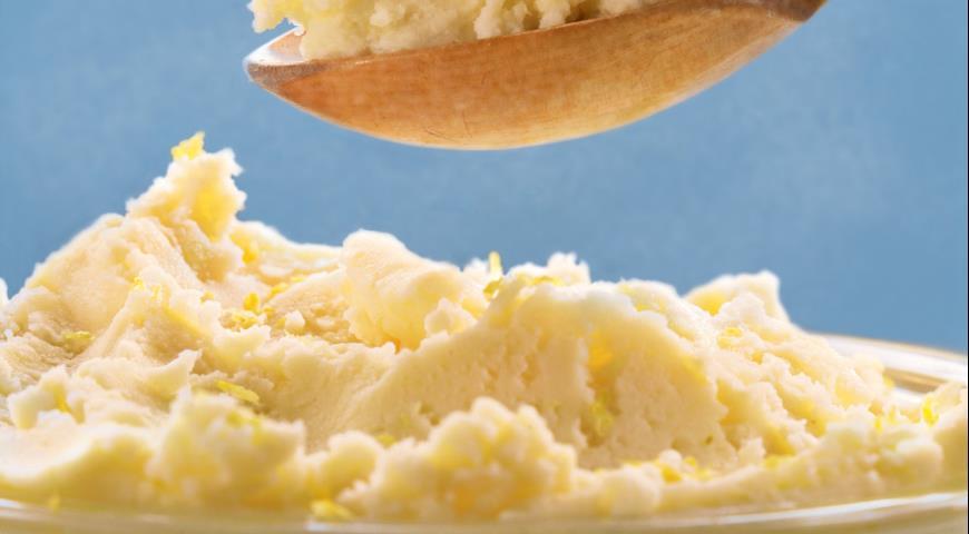 Классическое пышное картофельное пюре, пошаговый рецепт с фото
