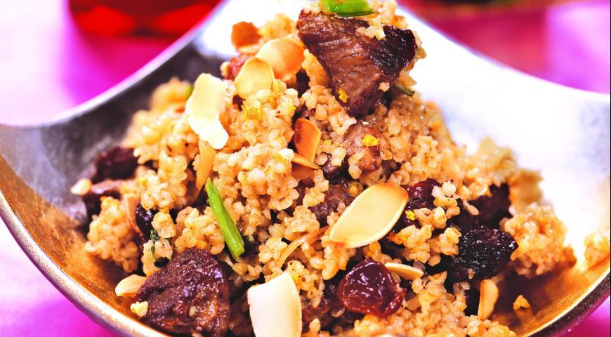 Рецепт Пшеничная каша с бараниной