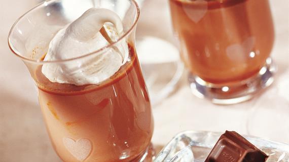 Напитки с шоколадом