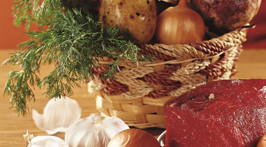 Рецепт Борщ с мясом, базовый рецепт