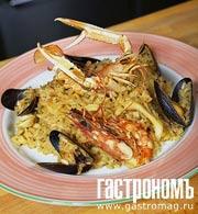 Рецепт Ризотто с морепродуктами