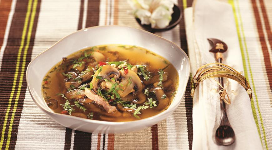 Рецепт Острый куриный суп