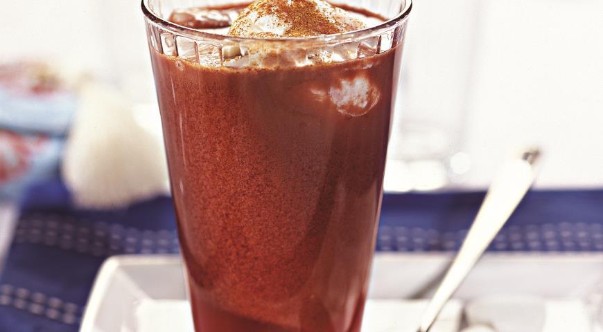 Рецепт Коктейль Какао с вишней