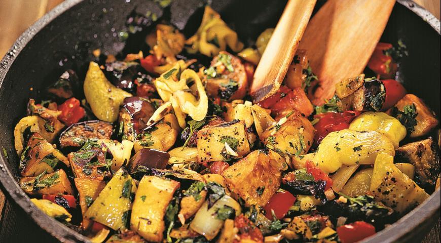 Рецепт Аджапсандали, грузинское овощное блюдо