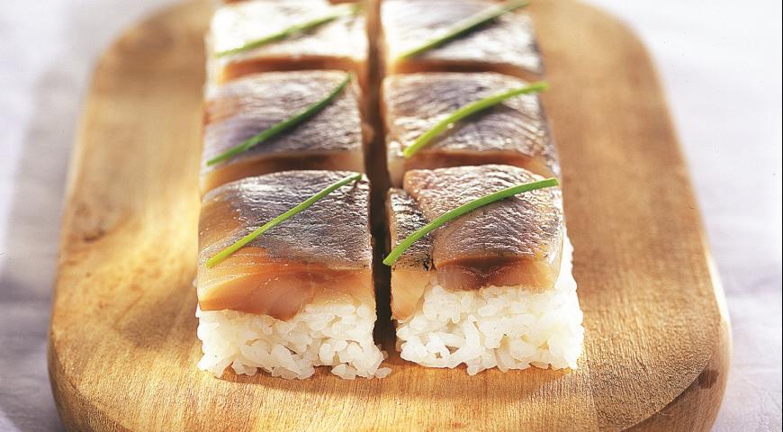 Рецепт Прессованные суши