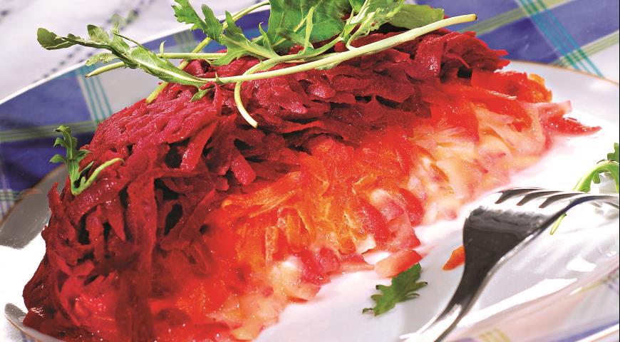 Рецепт Овощи под сырным соусом