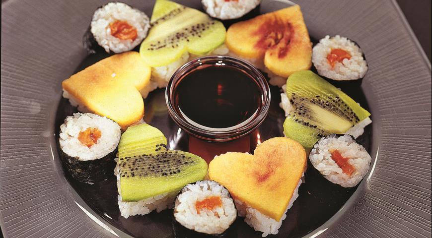 Рецепт Десертные суши