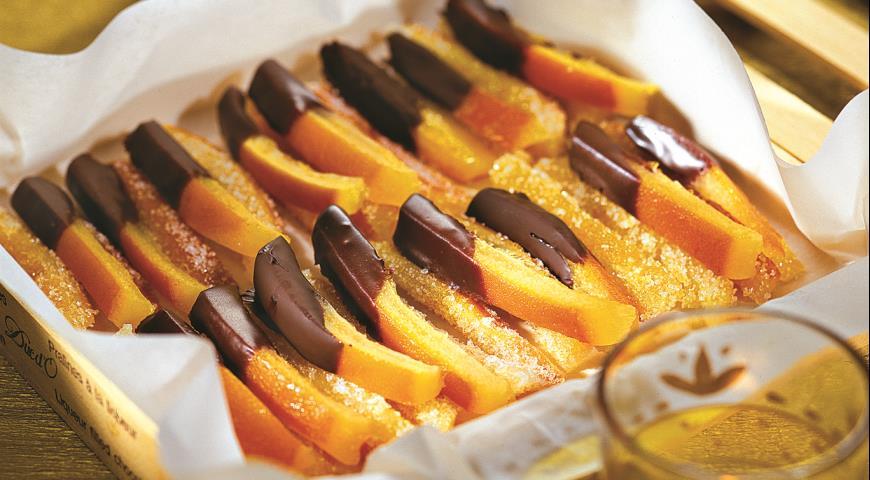 Рецепт Цукаты в шоколаде