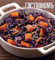 Рецепт Теплый зимний салат с пряной заправкой