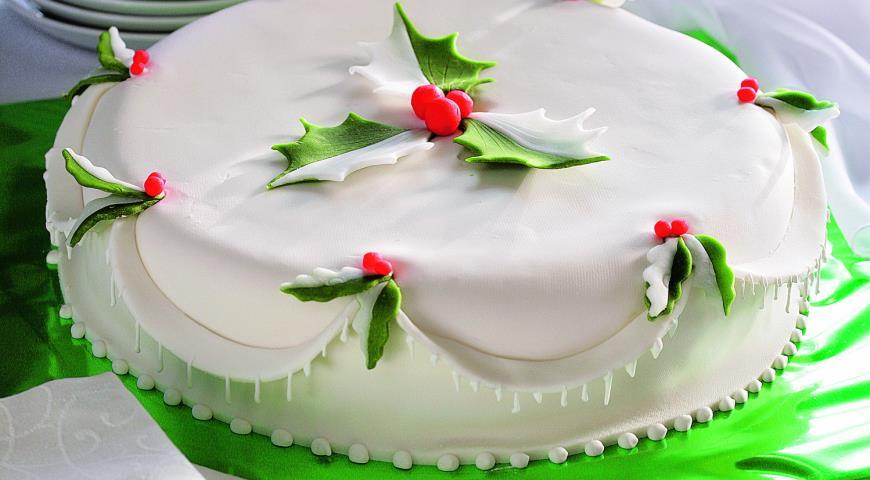 Рецепт Миндальный кекс