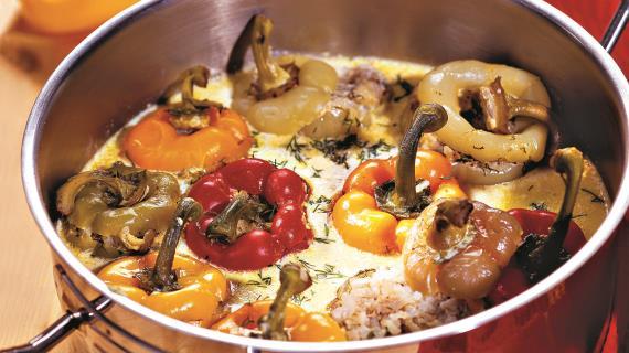 ежики из фарша с рисом с капустой рецепт пошагово