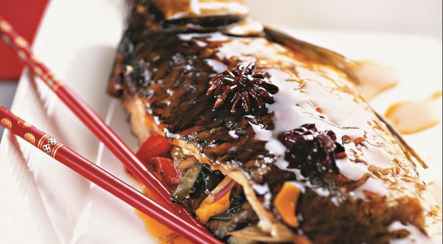 Рецепт Карп в китайском стиле