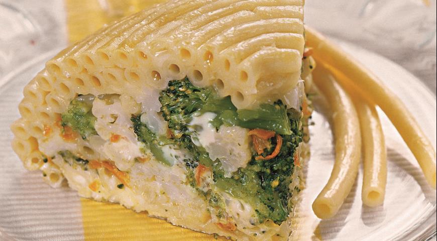 Рецепт Макаронная запеканка с овощами