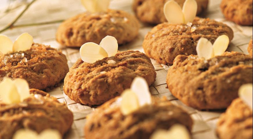 Рецепт Печенье с курагой и йогуртом