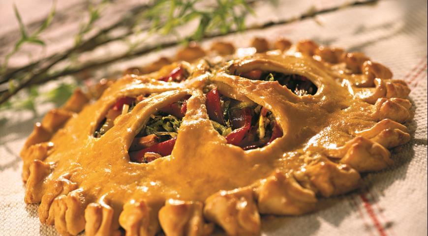 Рецепт Пирог с молодой зеленью