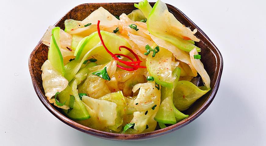 Корейская закуска из капусты