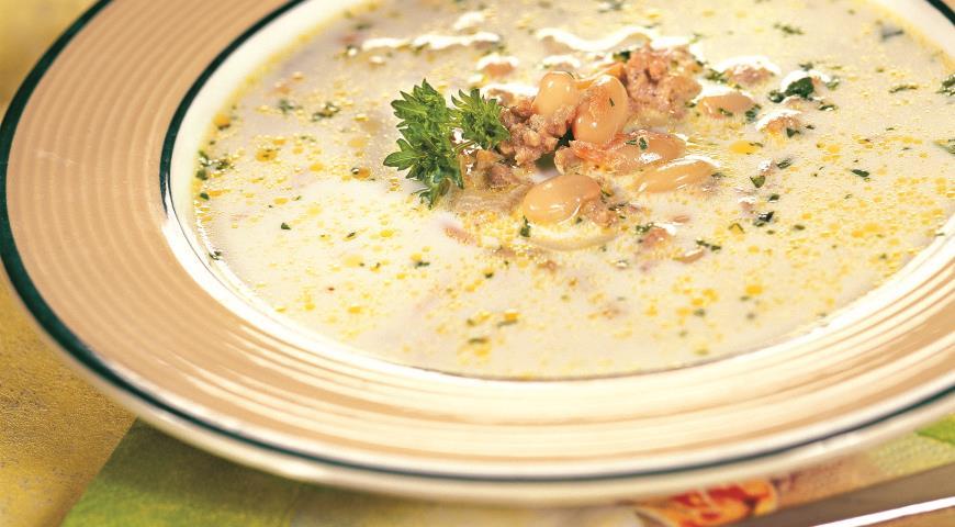 Простой мясной суп рецепт пошаговый