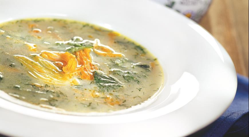 Рецепт Суп из молодой крапивы