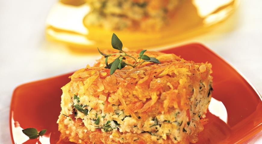Рецепт Рыбная запеканка с овощами