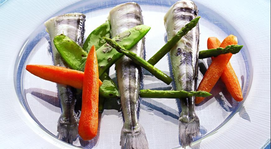 Рецепт Ледяная рыба с овощами