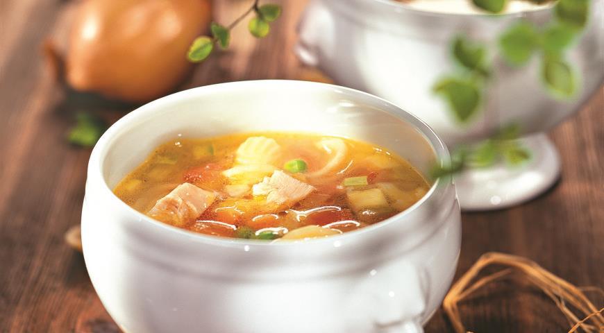Рецепт Минестроне с курицей