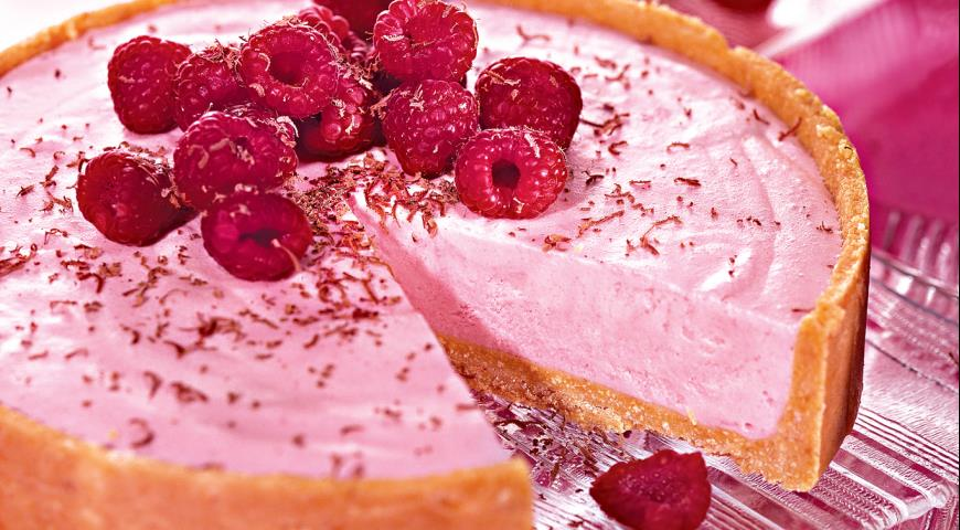 Рецепт Малиновый торт-мороженое