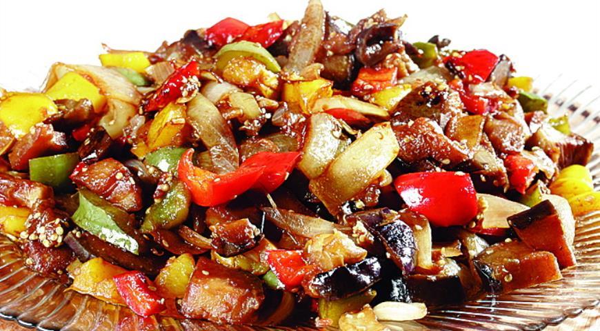 Рецепт Овощи по-китайски от Полины Осетинской